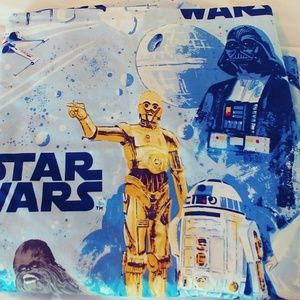Star Wars Pottery Barn Kids FULL flat sheet 1 case